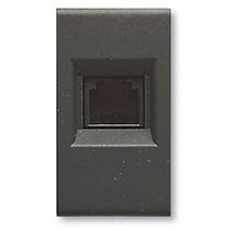 Presa telefonica RJ11 4 pin noir
