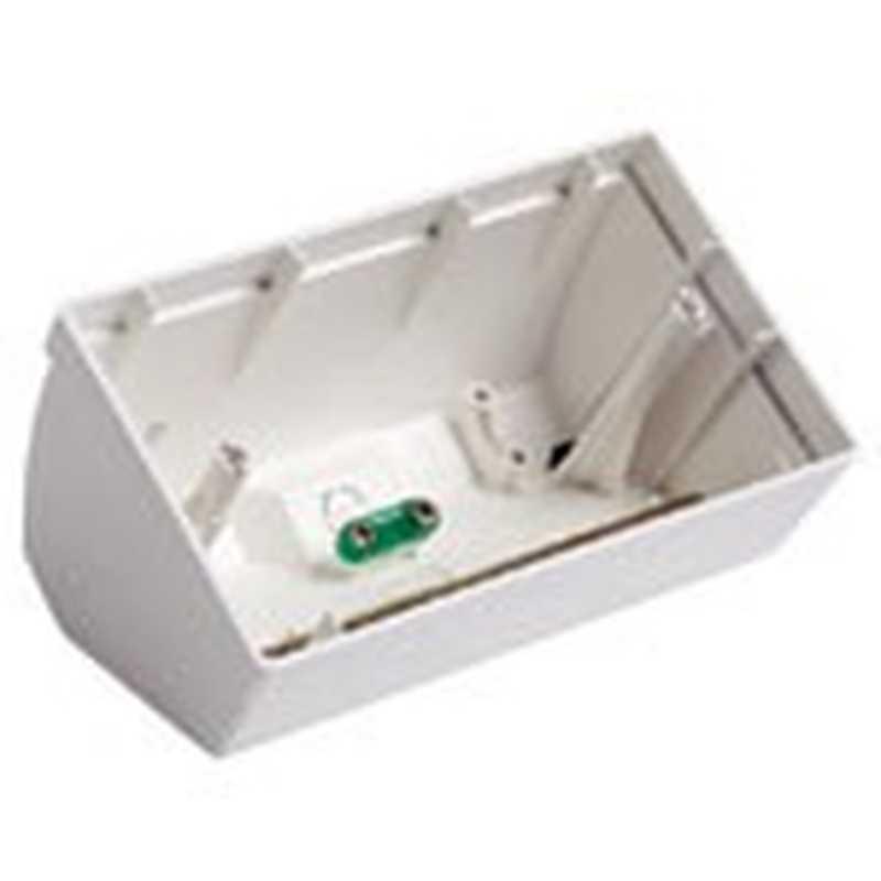 Scatola da tavolo inclinata 4 moduli bianca universale - Scatola portafrutti da tavolo ...