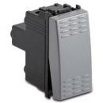 Deviatore 1P 16AX Serie Civili Master Modo Steel 33003