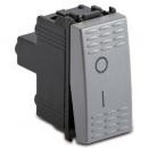 Interruttore 2P 16AX Serie Civili Master Modo Steel 33002