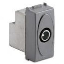 Presa Coassiale IEC Maschio Passante Serie Civili Master Modo Steel 33270-7