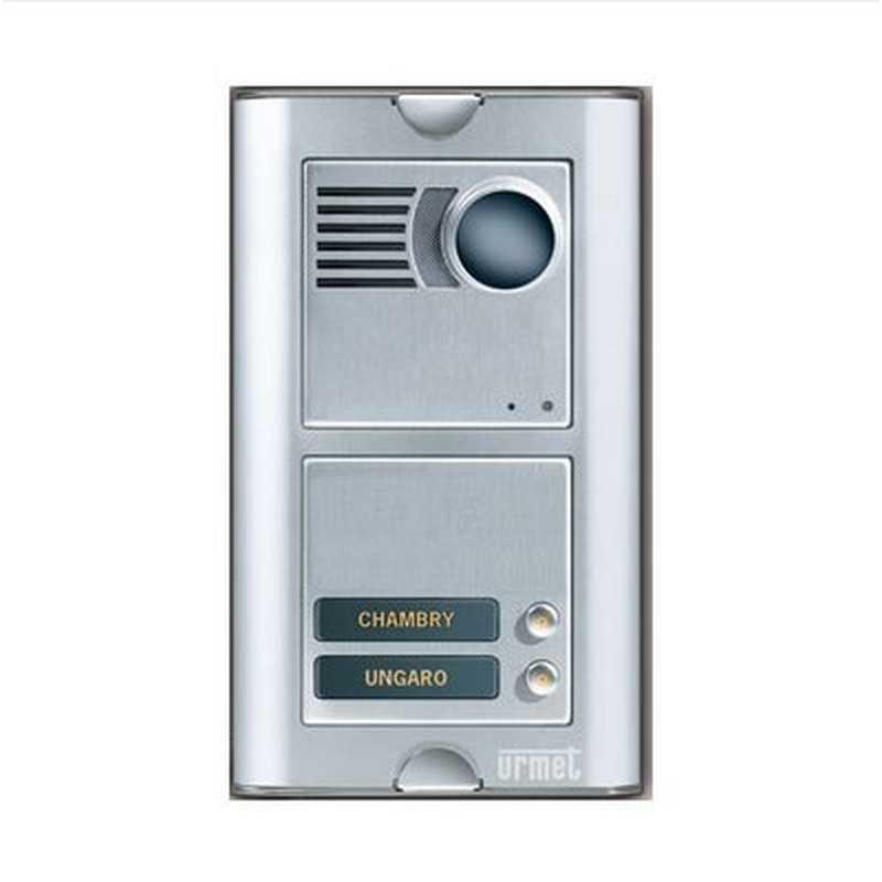 Schema Elettrico Urmet 2 Voice : Posto esterno audio video voice urmet