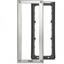 Telaio porta moduli Urmet con cornice per 3 moduli Urmet 1148/63