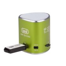 Mini altoparlante portatile e Lettore Mp3 Trevi XB65 Verde