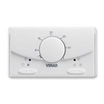Termostato da parete Vimar Bianco 02900