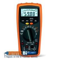 Multimetro digitale professionale con misura AC+DC TRMS HT401