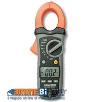 Pinza amperometrica per correnti AC fino a 600A HT4010