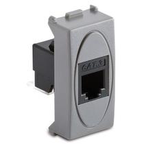 Presa RJ11 1 Plug 6-4 Serie Civili Master Modo Steel 33215
