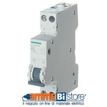 Interruttore Automatico Magnetotermico 1P+N 1 Modulo 20A Siemens 5SY30207