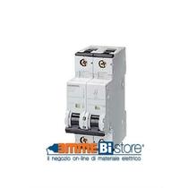 Interruttore Automatico Magnetotermico 2P 2 Moduli 25A 6kA  Siemens 5SY62257