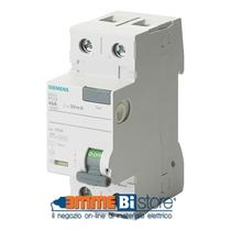 Interruttore Differenziale puro 25A 0,03 Tipo A Siemens 5SV33126