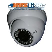 Telecamera Minidome 700TVL Bianca Varifocal IP66 Comelit SCAM637A