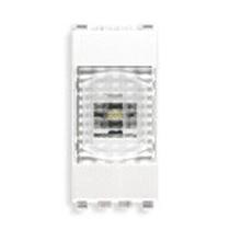 Lampada d'Emergenza automatica a Led  230V 50-60Hz Serie Civile Vimar Eikon Bianca 20382.B