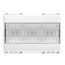 Lampada d'Emergenza automatica a Led  230V 50-60Hz Serie Civili Vimar Eikon Bianca 20382.B