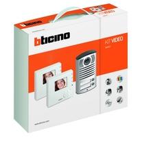 Kit Videocitofonico Bifamiliare a colori Classe 100V12B Bticino 365521