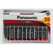 Blister Panasonic 20 Stilo AA Alkaline - Size M - 1,5V