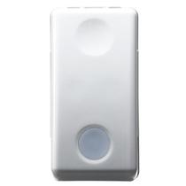 Pulsante Unipolare Luminoso NA 10A Serie Civili Gewiss System White GW20515