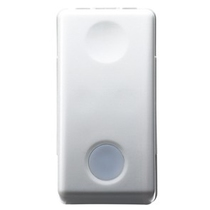 Interruttore Unipolare 16A Luminoso Serie Civili Gewiss System White GW20572