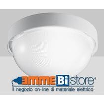 Plafoniera Bianca IP43 a soffitto e parete Prisma Drop 20 005000