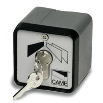 Selettore a chiave da esterno in alluminio pressofuso antivandalo Came 001SET-E