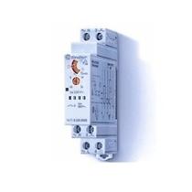 Temporizzatore luce scala monofunzione 1 modulo din Finder 147182300000
