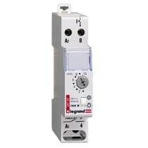 Temporizzatore modulare 16 A luci scale 230 V - 50/60 Hz Legrand 04702