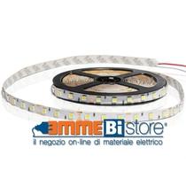 Striscia 300 Led Adesiva 5 Metri 50x50 24V Tonalita' Bianco Neutro 72w Ip20