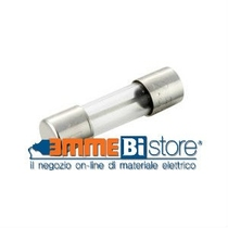 Fusibile in vetro cilindrico misura 5x20 mm 1,25 A