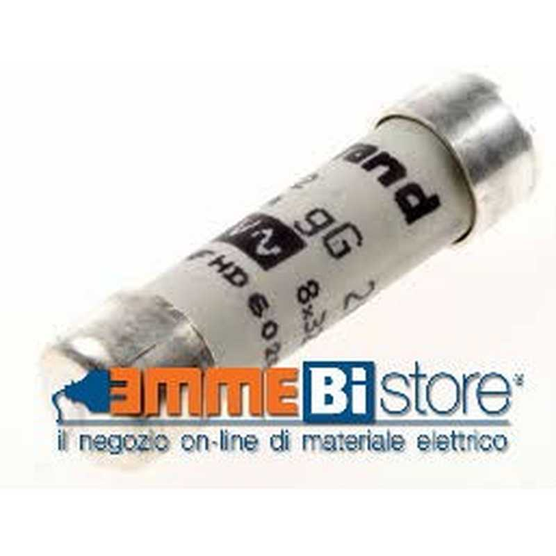 Fusibile in ceramica cilindrico  misura 9x36 mm 6A