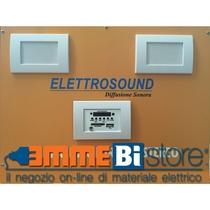 Diffusione sonora Kit impianto base completa di centrale e altoparlanti