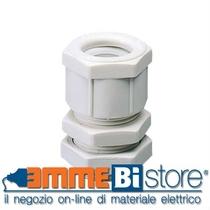 Pressacavo in Nylon passo Pg 42 Grigio Ral IP66