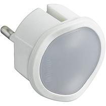 Adattatore spina standard tedesca e luce emergenza - bianco Bticino S3625DL