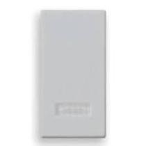 Tasto 1M +diffusore Plana Silver