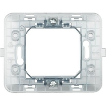 Supporto 2 moduli per scatola tonda Bticino Matix 500SM2A
