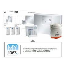 Kit antintrusione Filare casa Basic Urmet 1067/912