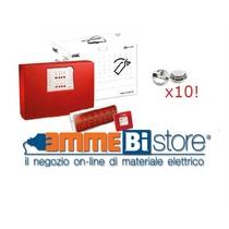 Kit antincendio Urmet con centrale 1043/422 e 10 rilevatori di fumo Urmet 1043/903