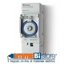 Orologio meccanico giornaliero 1 scambio 2 Moduli Finder 120182300000