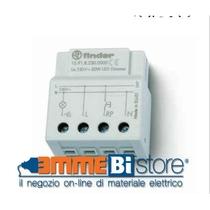 Dimmer incasso per lampade a led 50W Relè e temporiizzatori Finder 159182300000
