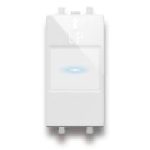 Interruttore elettronico con uscita a relè 1P NA 10A 230 V
