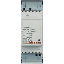 Alimentatore supplementare 2 moduli din 230V Ticino 346020