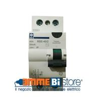 Interruttore Differenziale Puro 2 poli - 25A 0,03A 2 moduli - Classe AC Siei RSE-25/2