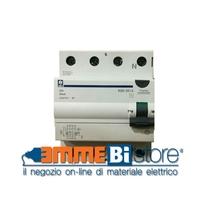 Interruttore Differenziale Puro 4 poli 63A 0,3A Classe AC Siei RME-63/4