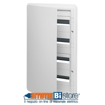 Centralino estetico da incasso IP40 72 moduli colore bianco Vimar V53172.B