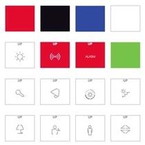 Set 16 etichette di personalizzazione AVE ETI16B