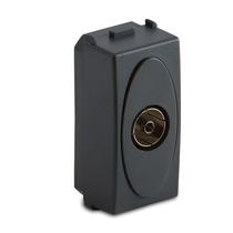 Presa Master TV 9.5mm finale, grigio Sistema Modo