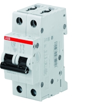 Interruttore Automatico 6A 6kA 2 Poli ABB S465502