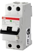 Magnetotermico differenziale 6kA 2 Poli AC C10 30ma ABB DS2CC10AC30