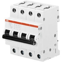 Interruttore Automatico 25A 4,5kA 4 Poli ABB S598682