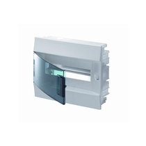 Centralino da Incasso Porta Trasparente 12 Moduli ABB 41A12X12