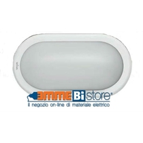 Plafoniera bianca a led IP 65 12W 4000K luce naturale Wiva 51300019